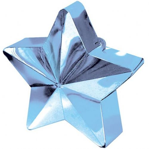 Light Blue Star Weight - 168g (each)